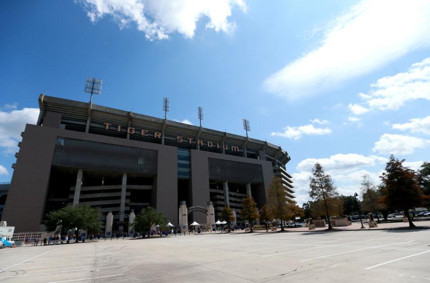 (Photo by Sean Gardner/Getty Images) LSU's Tiger Stadium