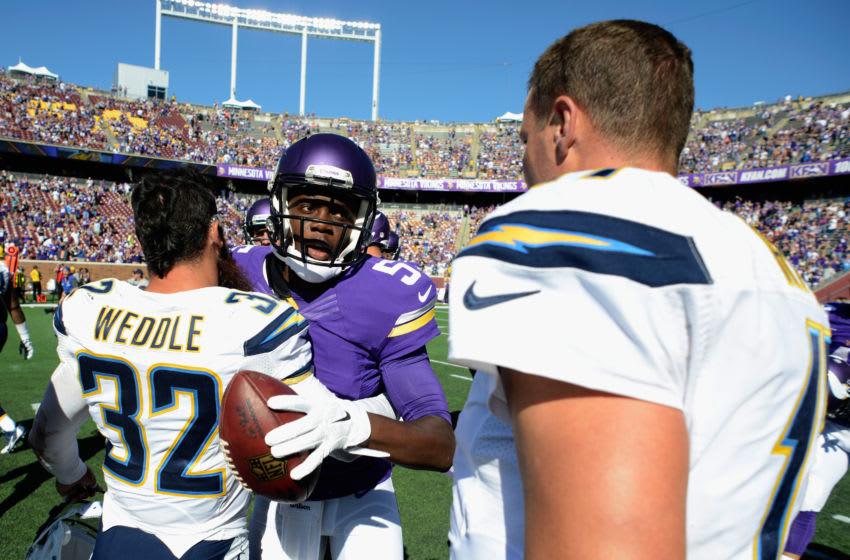 (Photo by Hannah Foslien/Getty Images) Teddy Bridgewater and Philip Rivers