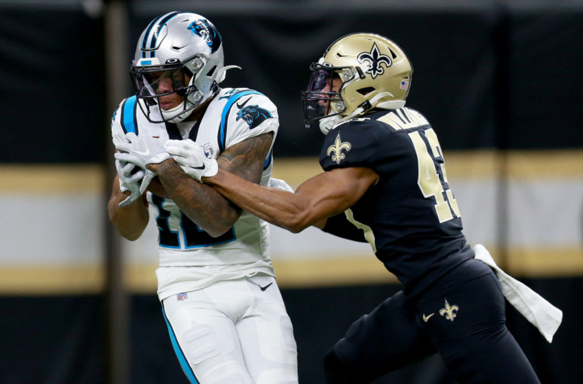 Carolina Panthers, D.J. Moore #12 (Photo by Sean Gardner/Getty Images)
