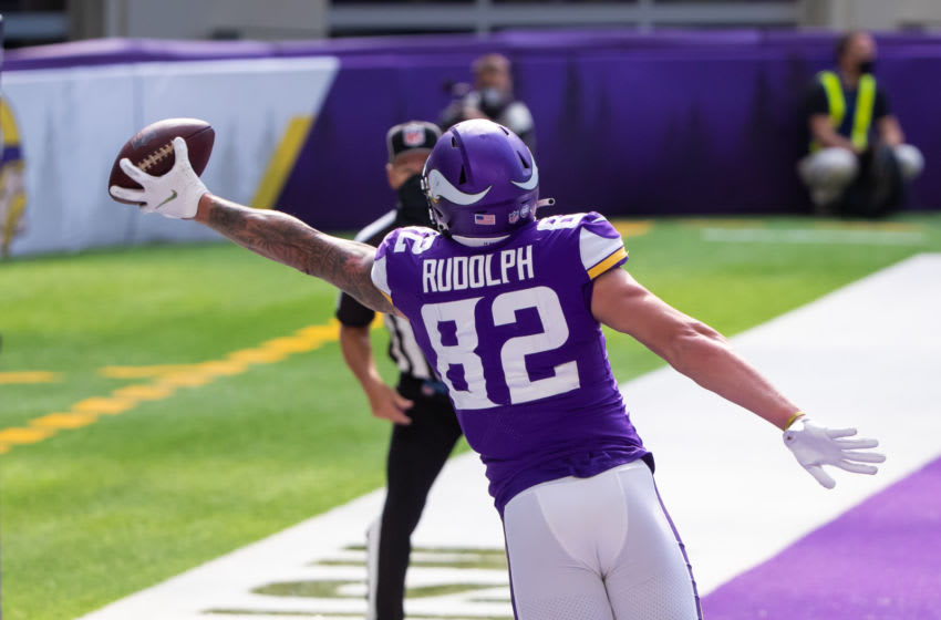 (Brad Rempel-USA TODAY Sports) Kyle Rudolph
