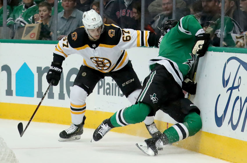 Boston Bruins, Jakub Zboril #67 (Photo by Tom Pennington/Getty Images)