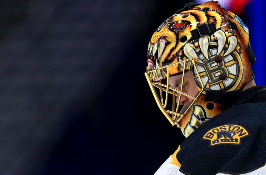 Boston Bruins, Tuukka Rask #40 (Photo by Mike Ehrmann/Getty Images)