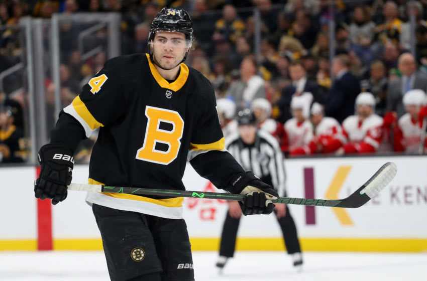 Boston Bruins Jake DeBrusk #74 (Photo by Maddie Meyer/Getty Images)