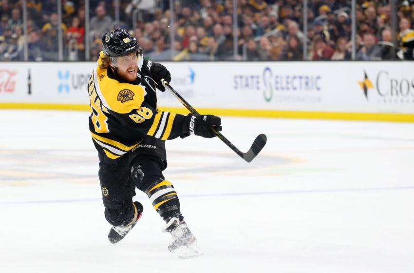 Boston Bruins, David Pastrnak #88 (Photo by Maddie Meyer/Getty Images)