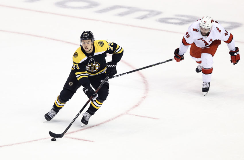 Boston Bruins, Charlie McAvoy #73 (Photo by Elsa/Getty Images)