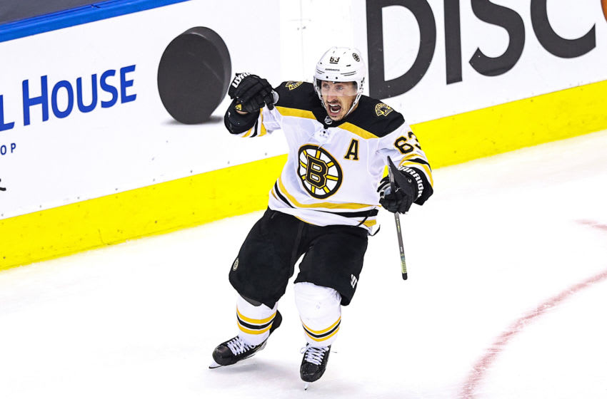 Boston Bruins, Brad Marchand #63 (Photo by Elsa/Getty Images)
