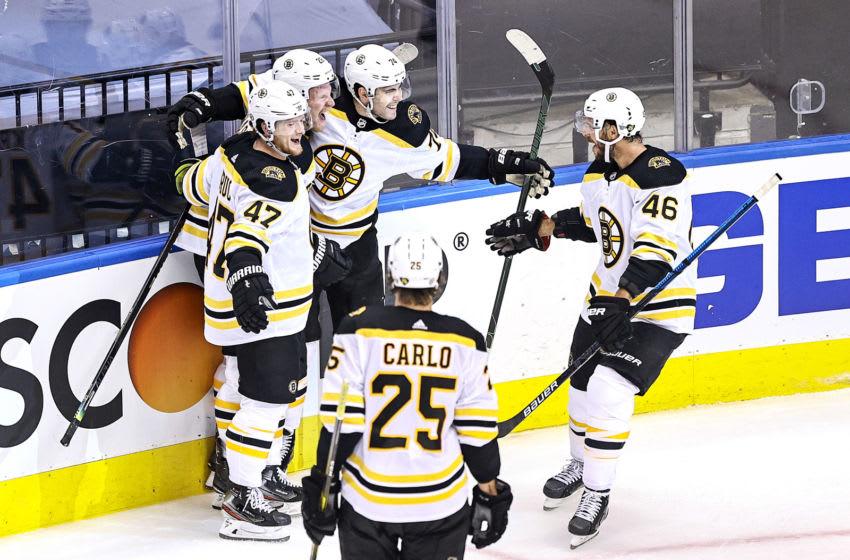 Boston Bruins, Jake DeBrusk #74 (Photo by Elsa/Getty Images)