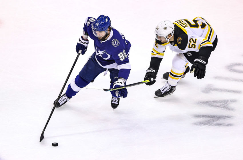 Boston Bruins, Sean Kuraly #52 (Photo by Elsa/Getty Images)
