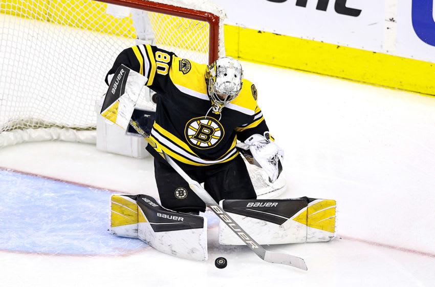Boston Bruins, Dan Vladar #80 (Photo by Elsa/Getty Images)