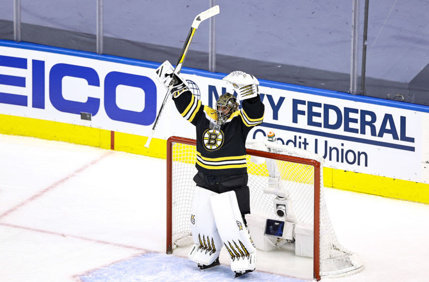 Boston Bruins, Jaroslav Halak #41 (Photo by Elsa/Getty Images)