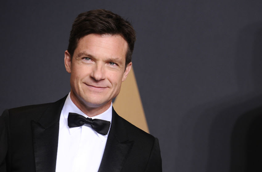 HOLLYWOOD, CA - FEBRUARY 26: Actor Jason Bateman poses in the press room at the 89th annual Academy Awards at Hollywood