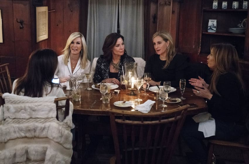 THE REAL HOUSEWIVES OF NEW YORK CITY -- Episode 1112 -- Pictured: (l-r) Tinsley Mortimer, Luann de Lesseps, Sonja Morgan, Barbara Kavovit -- (Photo by: Heidi Gutman/Bravo)