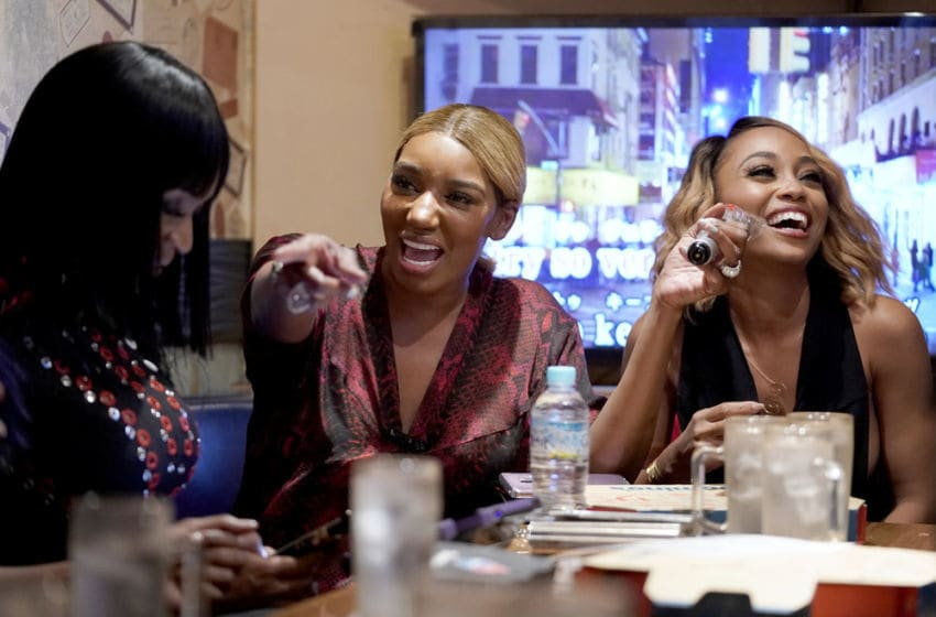 THE REAL HOUSEWIVES OF ATLANTA, NeNe Leakes, Shamari Devoe (Photo by: Christopher Jue/Bravo)