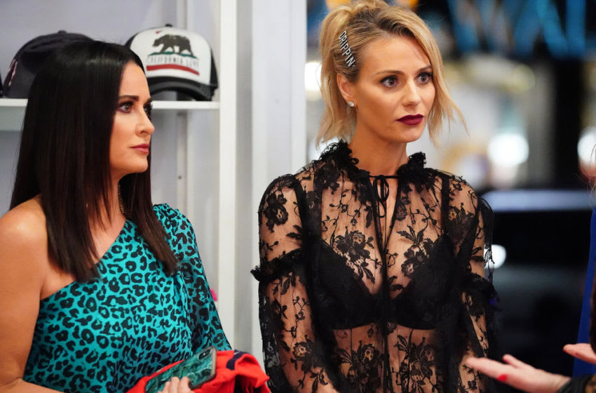 Kyle Richards, Dorit Kemsley, The Real Housewives of Beverly Hills (Photo by: Nicole Weingart/Bravo)