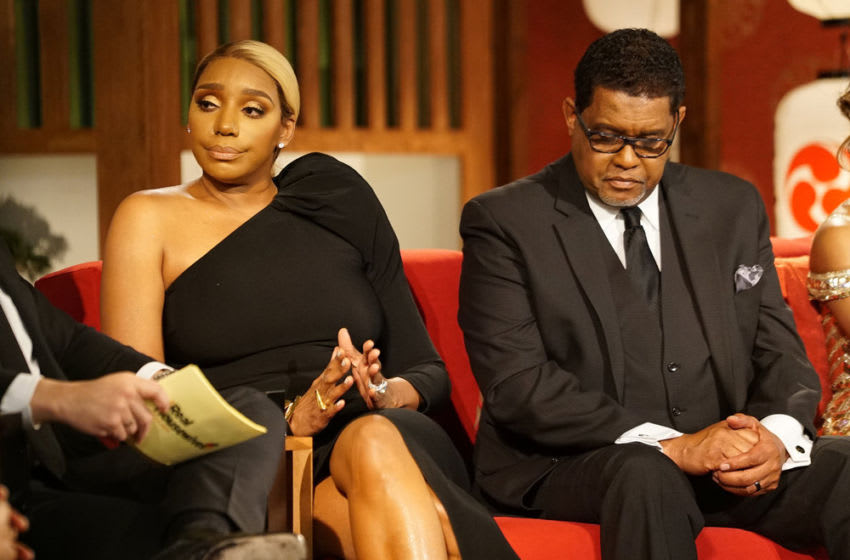 THE REAL HOUSEWIVES OF ATLANTA, NeNe Leakes, Gregg Leakes (Photo by: Annette Brown/Bravo)