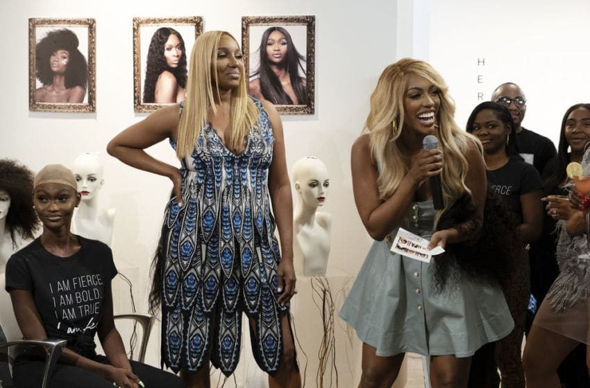 THE REAL HOUSEWIVES OF ATLANTA, NeNe Leakes, Porsha Williams (Photo by: Steve Dietl/Bravo)