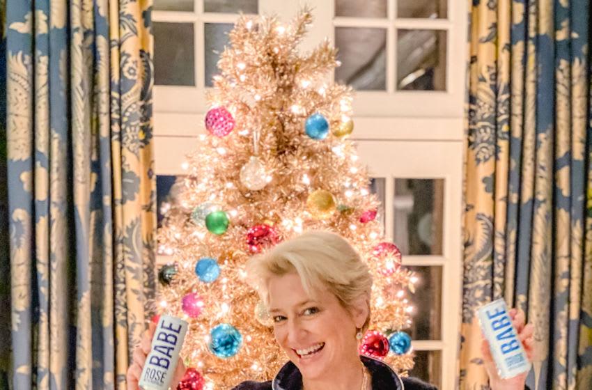 BABE Wine Partners with RHONY Alum Dorinda Medley for Epic Holiday Celebration. Image courtesy BABE Wine