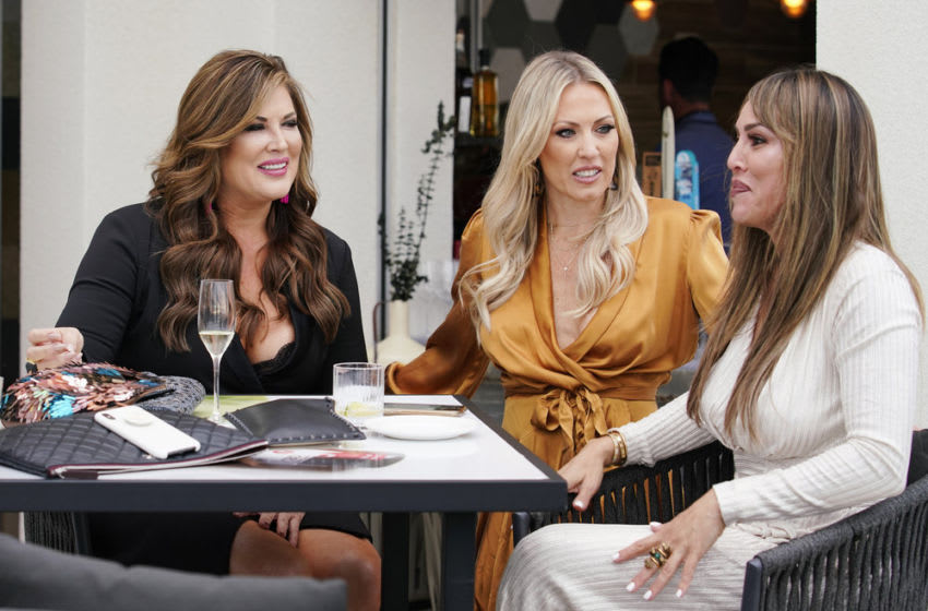 THE REAL HOUSEWIVES OF ORANGE COUNTY, Emily Simpson, Braunwyn Windham-Burke, Kelly Dodd -- (Photo by: Casey Durkin/Bravo)