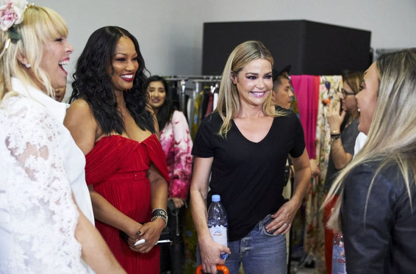 THE REAL HOUSEWIVES OF Beverly Hills, Sutton Stracke, Garcelle Beauvais, Denise Richards (Photo by: Kathy Boos/Bravo)