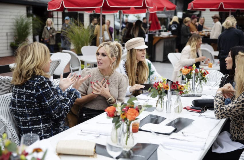 THE REAL HOUSEWIVES OF NEW YORK CITY, Sonja Morgan, Tinsley Mortimer, Leah McSweeney -- (Photo by: Scott Eisen/Bravo)