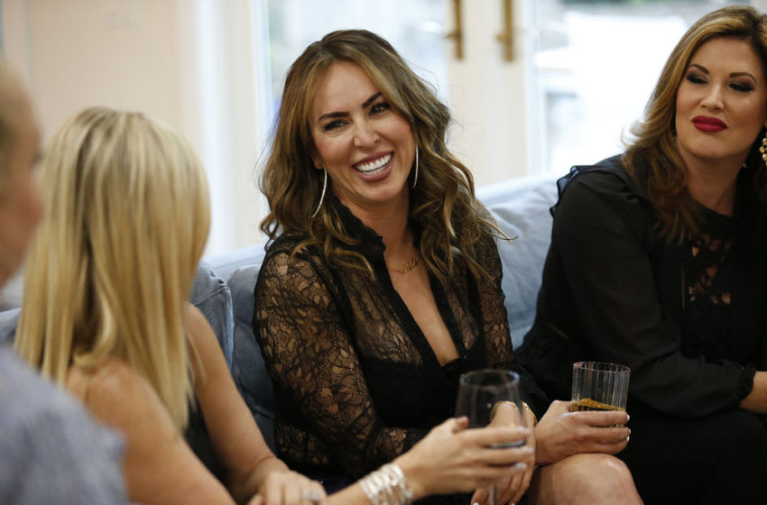 THE REAL HOUSEWIVES OF ORANGE COUNTY, Kelly Dodd, Emily Simpson -- (Photo by: Phillip Faraone/Bravo)