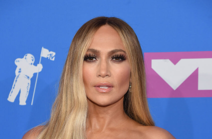 NEW YORK, NY - AUGUST 20: Jennifer Lopez attends the 2018 MTV Video Music Awards at Radio City Music Hall on August 20, 2018 in New York City. (Photo by Jamie McCarthy/Getty Images)