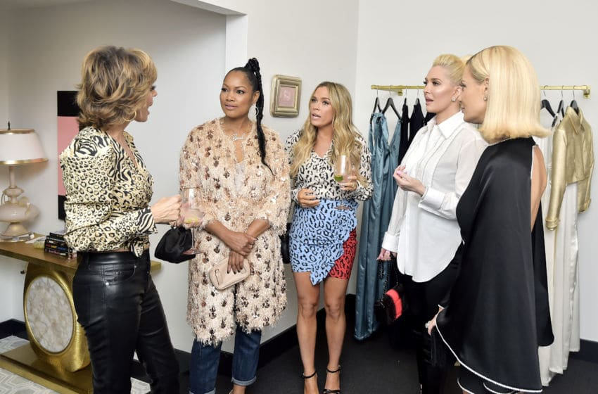 WEST HOLLYWOOD, CALIFORNIA - SEPTEMBER 26: Lisa Rinna, Garcelle Beauvais, Teddi Mellencamp, Erika Jayne and Dorit Kemsley attend SUTTON Store Launch at SUTTON on September 26, 2019 in West Hollywood, California. (Photo by Stefanie Keenan/Getty Images for SUTTON)
