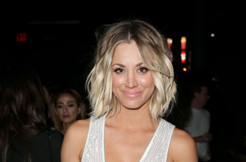 LOS ANGELES, CA - FEBRUARY 15: Actress Kaley Cuoco attends the Republic Records Grammy Celebration presented by Chromecast Audio at Hyde Sunset Kitchen & Cocktail on February 15, 2016 in Los Angeles, California. (Photo by Imeh Akpanudosen/Getty Images for Republic Records)