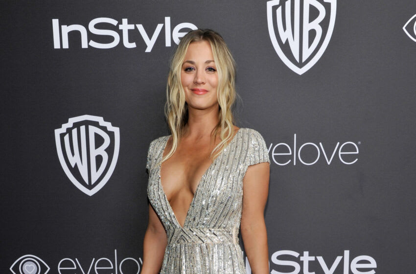BEVERLY HILLS, CA - JANUARY 08: Actress Kaley Cuoco attends The 2017 InStyle and Warner Bros. 73rd Annual Golden Globe Awards Post-Party at The Beverly Hilton Hotel on January 8, 2017 in Beverly Hills, California. (Photo by John Sciulli/Getty Images for InStyle)