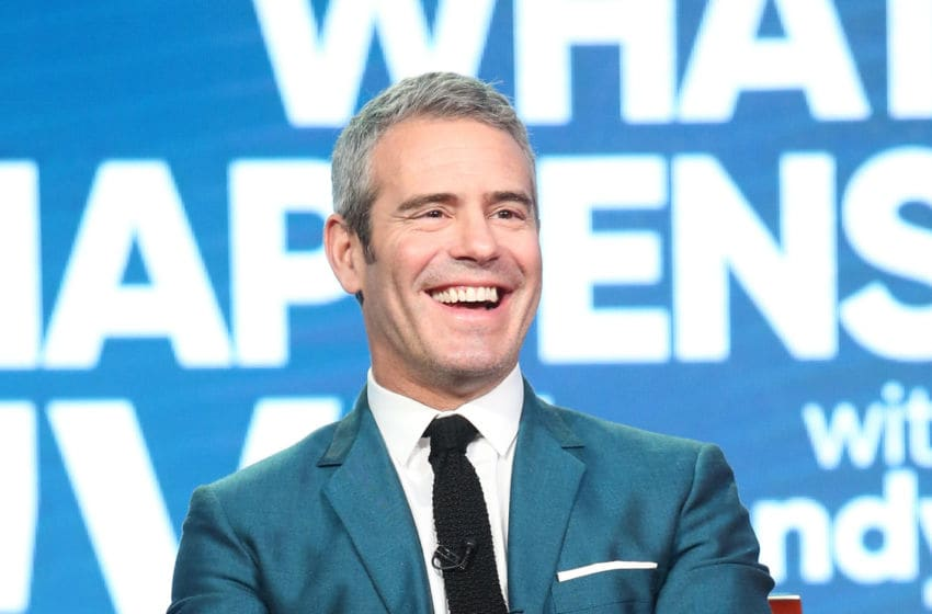 PASADENA, CA - JANUARY 17: Host and executive producer Andy Cohen of the television show 'Watch What Happens Live with Andy Cohen' speaks onstage during the NBCUniversal portion of the 2017 Winter Television Critics Association Press Tour at the Langham Hotel on January 17, 2017 in Pasadena, California. (Photo by Frederick M. Brown/Getty Images)