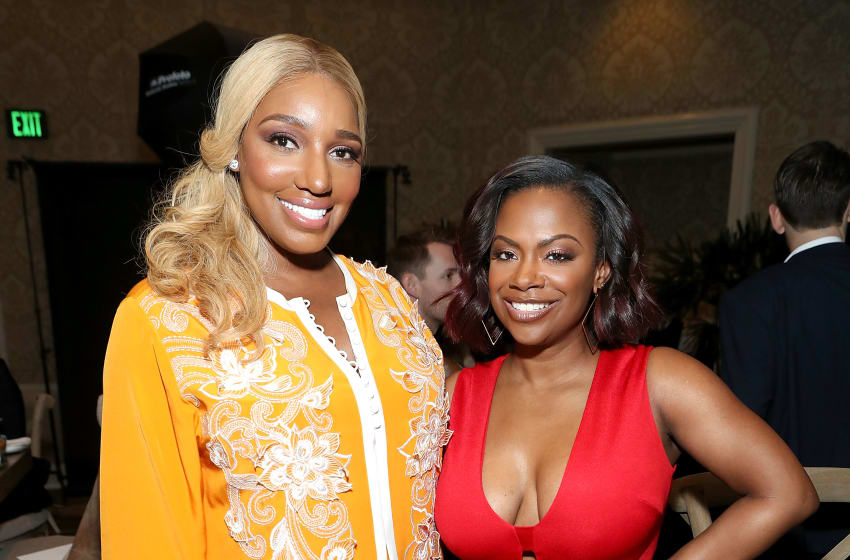 NeNe Leaks and Kandi Burruss (Photo by Randy Shropshire/Getty Images for Mercedes-Benz USA)