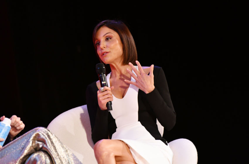 NEW YORK, NY - SEPTEMBER 28: Bethenny Frankel speaks onstage during the THRIVE with Arianna Huffington panel at The Town Hall during 2016 Advertising Week New York on September 28, 2016 in New York City. (Photo by Slaven Vlasic/Getty Images for Advertising Week New York)