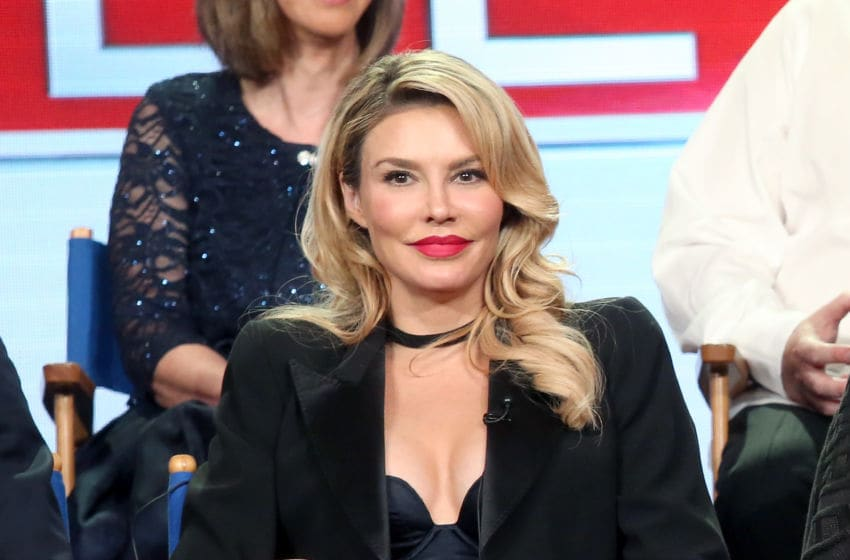 PASADENA, CA - JANUARY 11: TV personality Brandi Glanville of the television show 'My Kitchen Rules' speaks onstage during the FOX portion of the 2017 Winter Television Critics Association Press Tour at Langham Hotel on January 11, 2017 in Pasadena, California. (Photo by Frederick M. Brown/Getty Images)