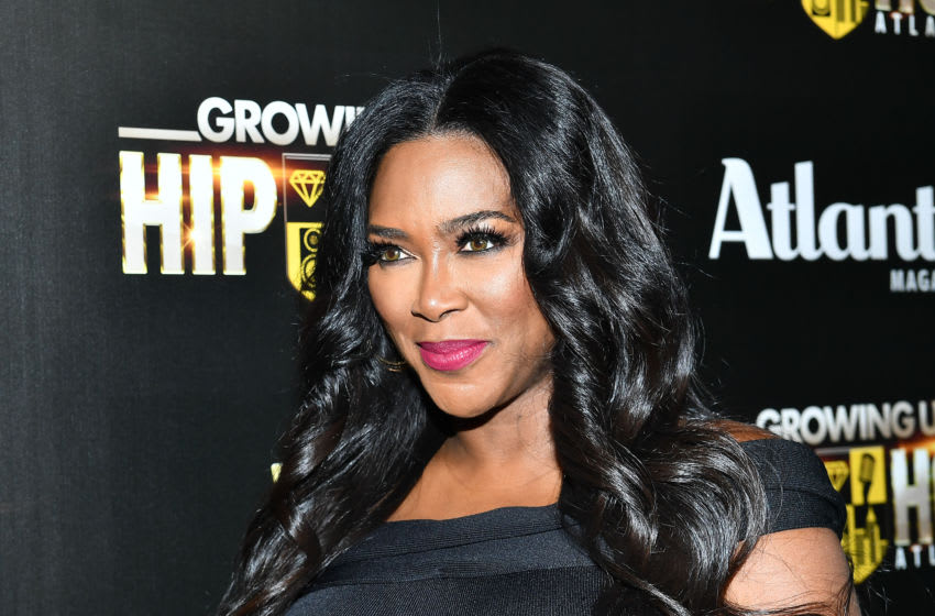 Kenya Moore attends 'WE tv Celebrates The Return Of Growing Up Hip Hop Atlanta (Photo by Paras Griffin/Getty Images for WE tv)