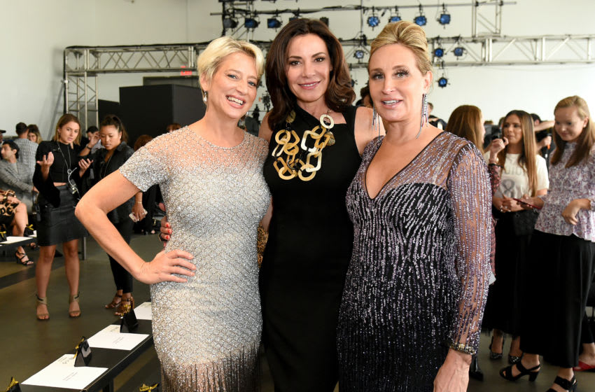 Dorinda Medley, Luann de Lesseps and Sonja Morgan (Photo by Yuchen Liao/Getty Images for NYFW: The Shows)