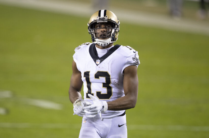 Michael Thomas #13 of the New Orleans Saints (Photo by Mitchell Leff/Getty Images)