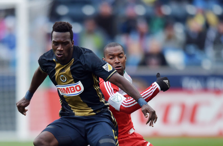 CHESTER, PA - MARCH 20: C.J. Sapong
