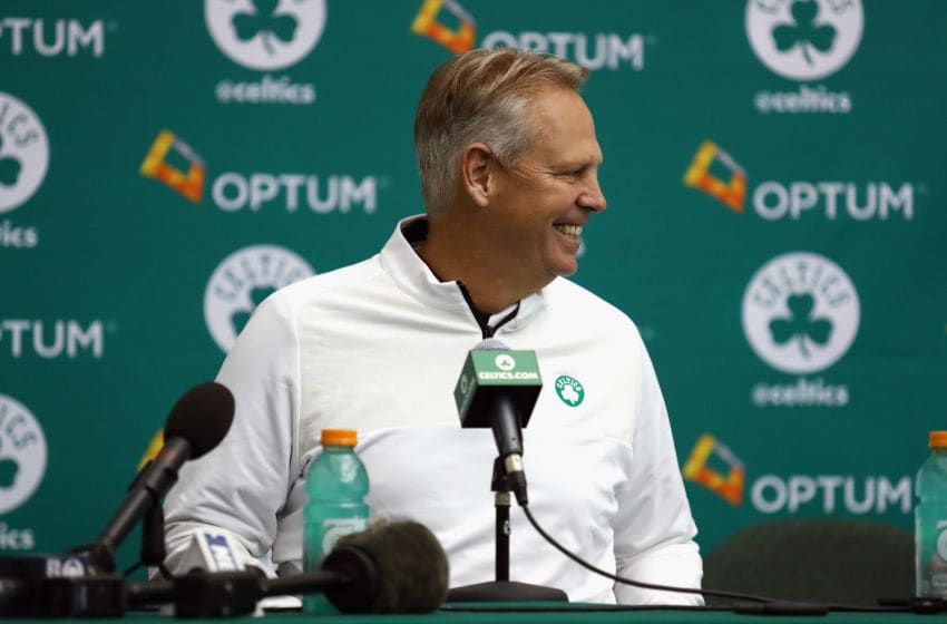 Boston Celtics Danny Ainge (Photo by Tim Bradbury/Getty Images)