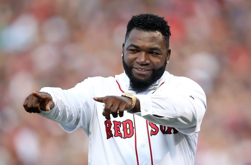 BOSTON, MA - JUNE 23: Former Boston Red Sox player David Ortiz