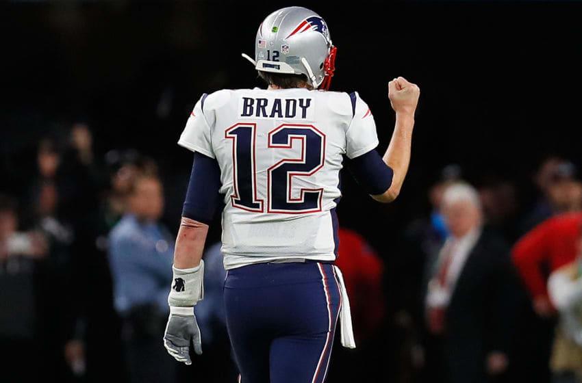 MINNEAPOLIS, MN - FEBRUARY 04: Tom Brady