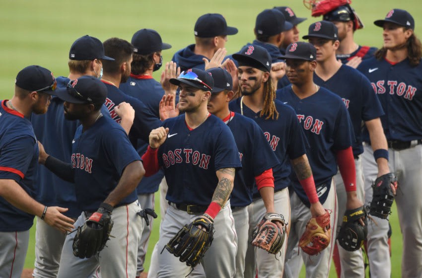 Boston Red Sox. Mandatory Credit: John David Mercer-USA TODAY Sports