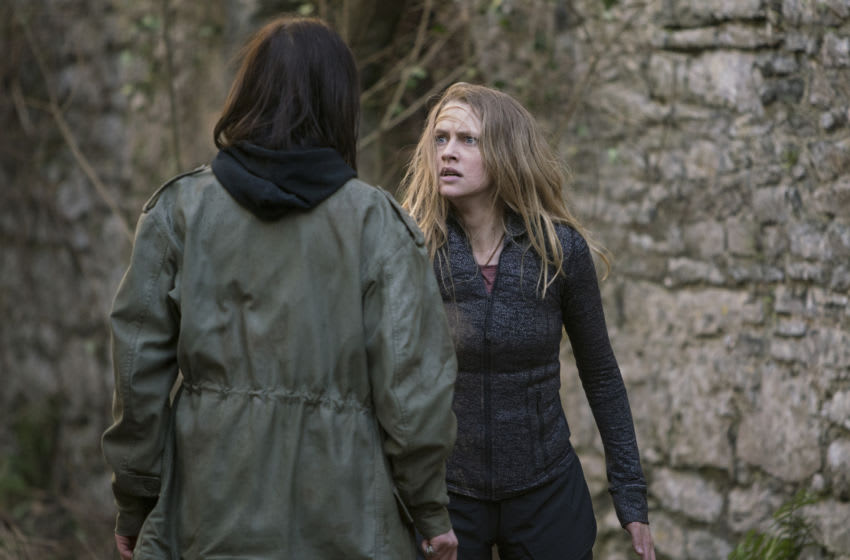 Teresa Palmer as Diana Bishop, Malin Buska as Satu Jarvinen - A Discovery of Witches _ Season 1, Episode 6 - Photo Credit: Adrian Rogers/SundanceNow/Shudder/Bad Wolf