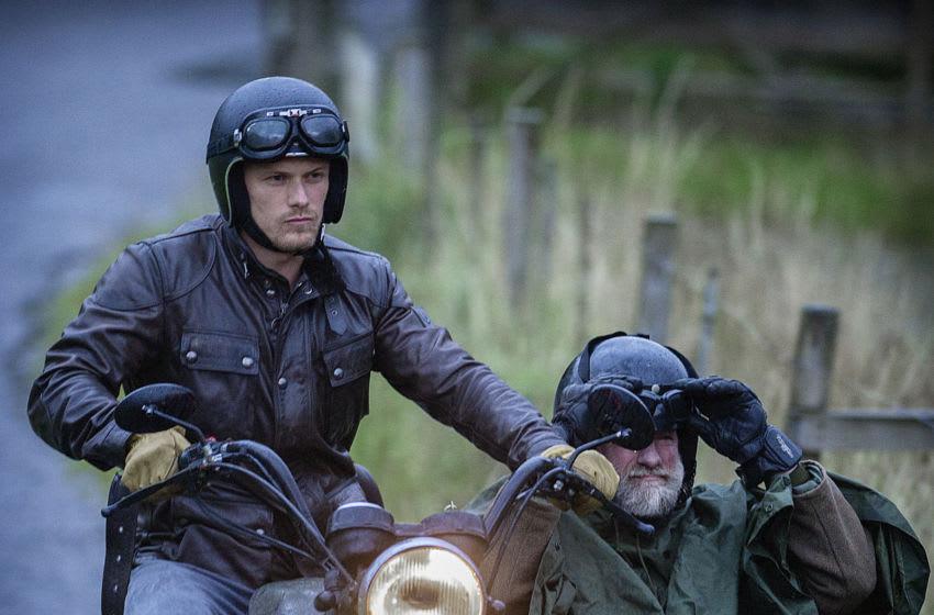 Men in Kilts -- Clanlands filming at Balquhidder with Sam Heughan and Graham McTavish. Photo: Peter Sandground/STARZ