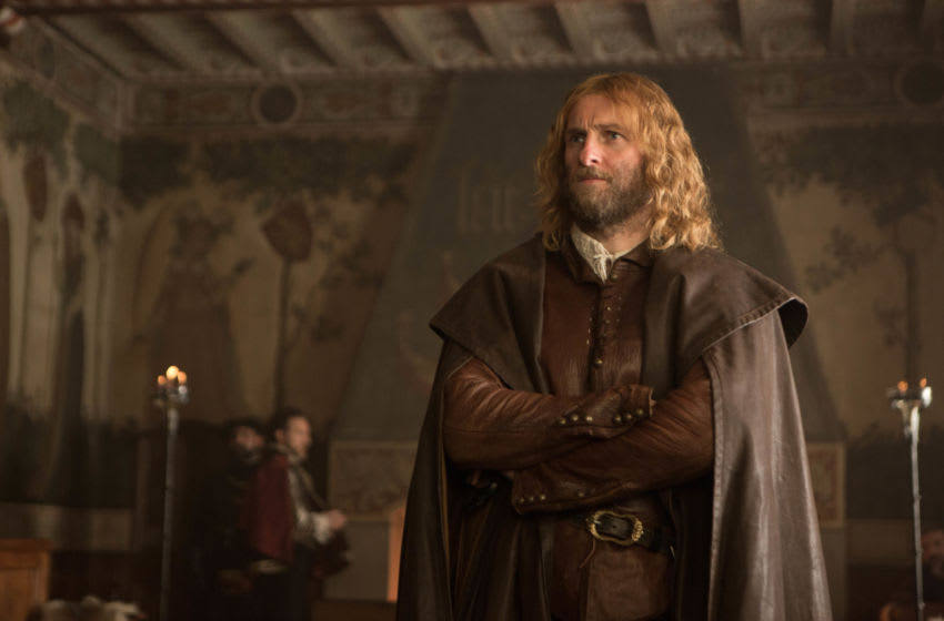 Steven Gree as Gallowglass - A Discovery of Witches _ Season 2, Episode 7 - Photo Credit: Sundance Now/Bad Wolf