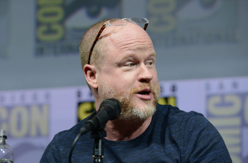 SAN DIEGO, CA - JULY 20: Joss Whedon speaks onstage at