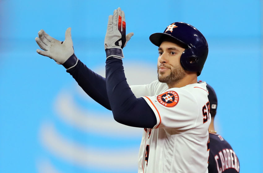George Springer (Photo by Elsa/Getty Images)
