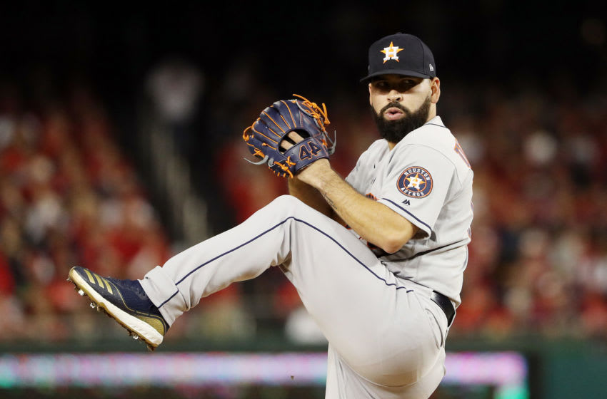 Houston Astros, Jose Urquidy (Photo by Patrick Smith/Getty Images)