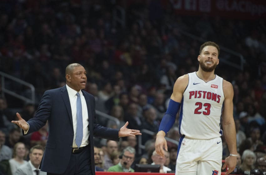 LA Clippers Detroit Pistons Blake Griffin (Photo by Kevin Sullivan/MediaNews Group/Orange County Register via Getty Images)