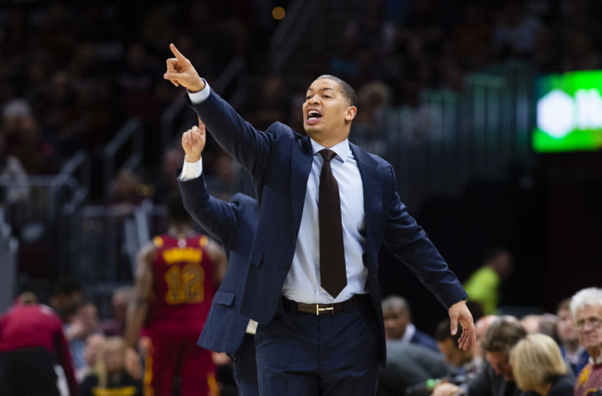 Ty Lue. (Photo by Jason Miller/Getty Images)