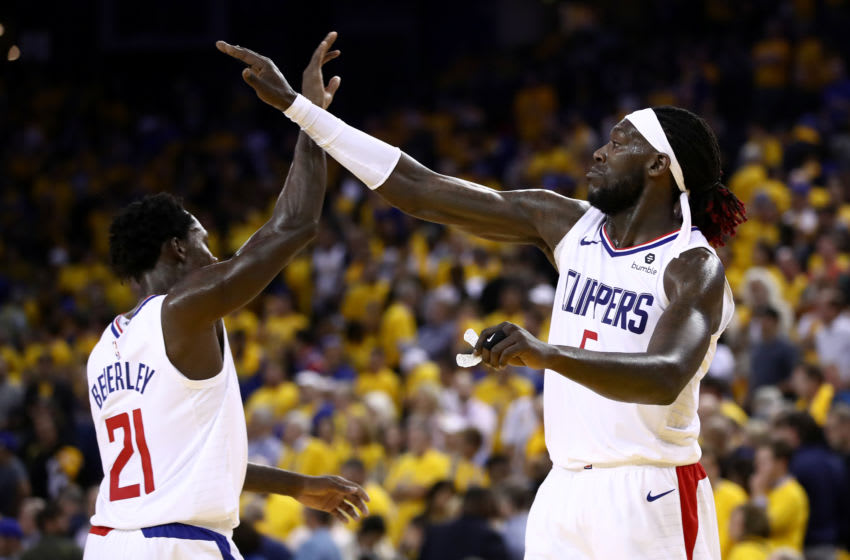 LA Clippers Patrick Beverley and Montrezl Harrell (Photo by Ezra Shaw/Getty Images)